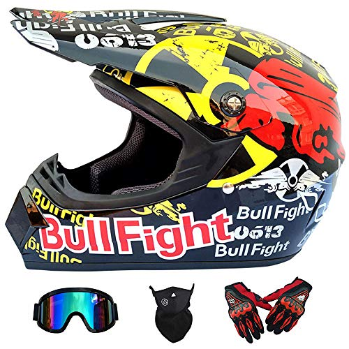 Wansheng Dual Sport Off Road Moto Motocross Casco Dirt Bike