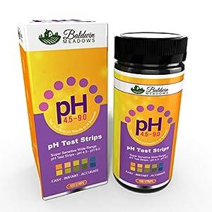 buy  pH Test Strips for Urine & Saliva, Test ... Diabetes Care