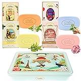Geschenkset Für Frauen: 4x100g DuftSeife von Un Air d'Antan®/ Französische Seifen Mit Bio...