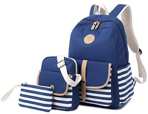 Product Image of the School Backpack for Girls, Gazigo Womens High School College Bookbags Laptop Bag...