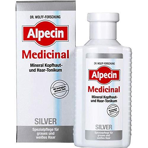 Alpecin Medicinal Silver Haarwasser Spezielle Pflege für graues und weißes Haar 6 x 200ml