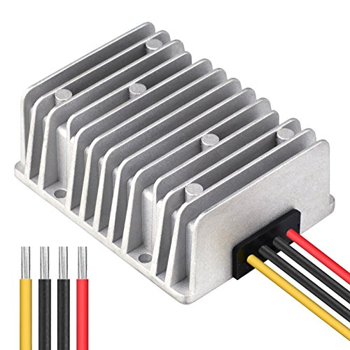Cllena DC 48V Step Down to 12V 30A 360W Voltage Reducer Converter, Waterproof DC/DC Buck Transformer Power Supply