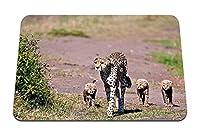 26cmx21cm マウスパッド (若いヒョウ) パターンカスタムの マウスパッド