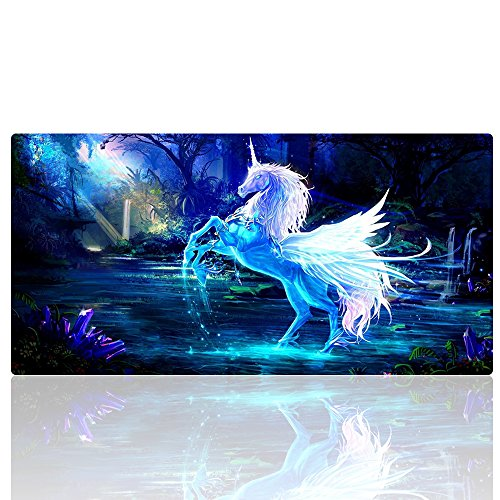 Cmhoo XXL Gaming Mouse Mat Extended & Extra Large Mouse Pad (80x40 Horse)