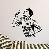 Geiqianjiumai fußballspieler Vinyl wandaufkleber Dekoration Aufkleber raumdekoration wandaufkleber...