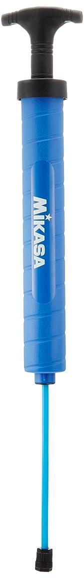 クラッチラベル軽減するミカサ ハンドポンプ ボール用エアーポンプ ダブルアクション ホース収納型