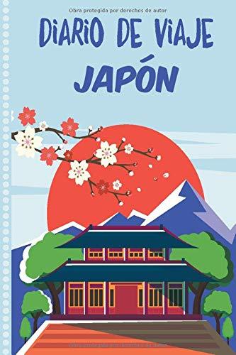 Diario de Viaje Japón: Cuaderno Diario,Notebook 108 páginas ILUSTRADAS Libro de Actividades de Vacaciones a Rellenar, Libro de Seguimiento de Viajes, Regalo Para Ofrecer. Made in Spain.