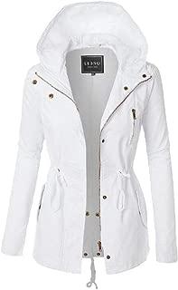 Womens Windbreaker Winter Coat Zipper Outdoor Hiking Coats Outwear Overcoats Tops