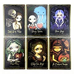 DALIN Oracle of Shadows and Light Full English Party Board Game 45 Cards Deck Tarot #4