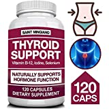 Thyroid Support Supplement with Iodine |120...