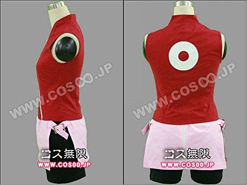 『NARUTO ナルト 疾風伝風☆春野サクラ☆コスプレ衣装』の1枚目の画像