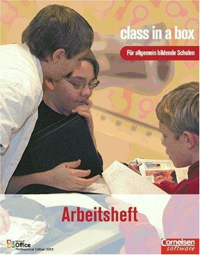 class in a box - Microsoft Office 2003: Office Professional 2003: Microsoft Office für Schulen. Schülerheft/Allgemeinbildende Schulen