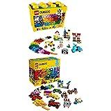 Lego Classic 10698 - Große Bausteine-Box, Bausteine + Kreativ-Bauset Fahrzeuge, Spielzeug