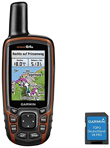 savvies Protector Pantalla Compatible con Garmin GPSMAP 64st Pelicula Ultra Transparente 6 Unidades