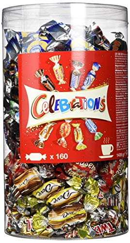 Celebrations Blisterbox, 1,4 kg Multipack mit 160 Pralinen