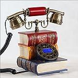 Teléfonos antiguos clásicos creativos antiguos Teléfonos fijos europeos Teléfono...
