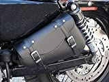 Tasche, leder einzeln, für linke Seite, für Harley Davidson Motorrad Rachmentasche Tasche Leder...