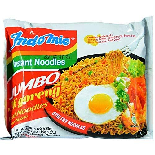 Indomie Jumbo Mi Goreng Instant Noodles - 24 x 129g