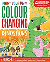 Colour Changing Dinosaurs (Paint Your Own Colour Changing)