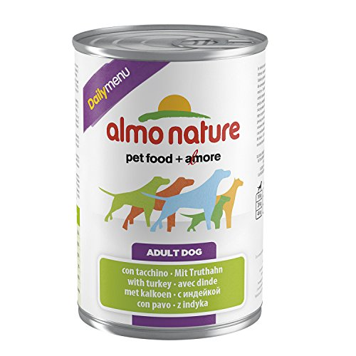 almo nature Daily Menu Hundefutter mit Truthahn (400 g)