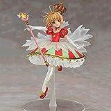 NAMFZX Variedad Sakura 15 ° Aniversario Tarjeta mágica Kinomoto Sakura Figura Figura Personaje de An...