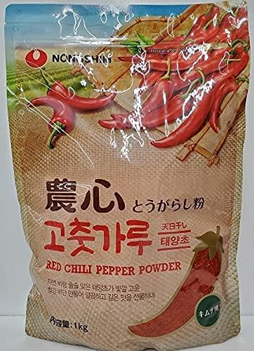 農心 唐辛子粉キムチ用 (粗びき) 1kg