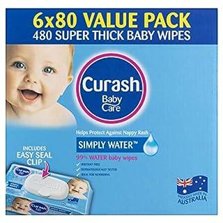 Curash Water Baby Wipes 6X80 PK (B077P5T8PW) | Amazon price tracker / tracking, Amazon price history charts, Amazon price watches, Amazon price drop alerts