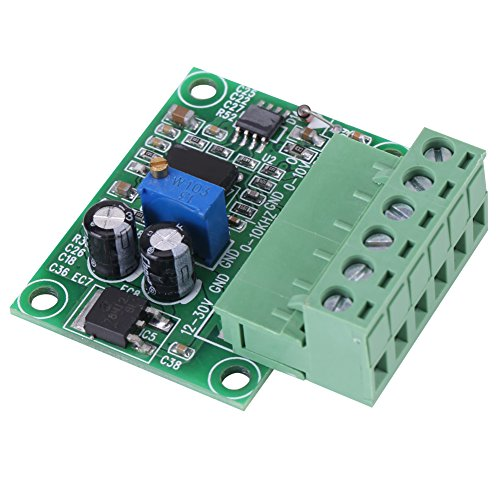 0-10KHz bis 0-10V Frequenz zu Spannungswandler Modul F/V Digital zu Analogplatine zum Schalten von SPS und Frequenzumrichter