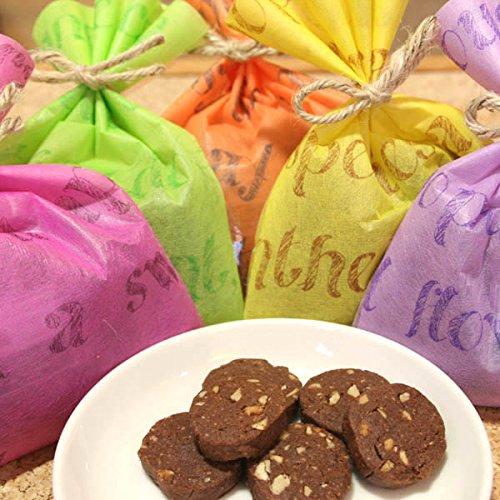チョコナッツクッキー ギフトラッピング(焼き菓子)チョコレートとアーモンドのクッキー【お中元・父の日・・退職・卒業・あいさつ・お祝い・お礼に配るプチギフト】