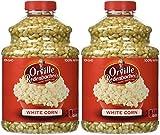 Orville Redenbacher's Gourmet Popping Corn - White Corn - 100% Natural (Non-GMO) - Net Wt. 30 OZ (850 g) Each - Pack of 2