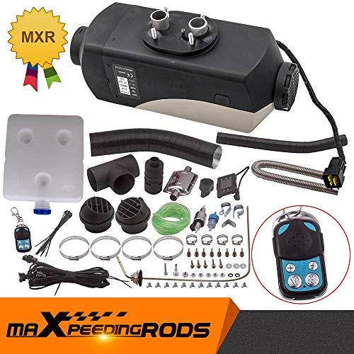 maXpeedingrods 2KW 12V Diesel Standheizung Heizgerät für LKW Wohnwagen Boot Yacht LCD-Schalter