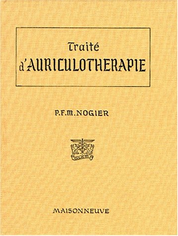TRAITE D'AURICULOTHERAPIE
