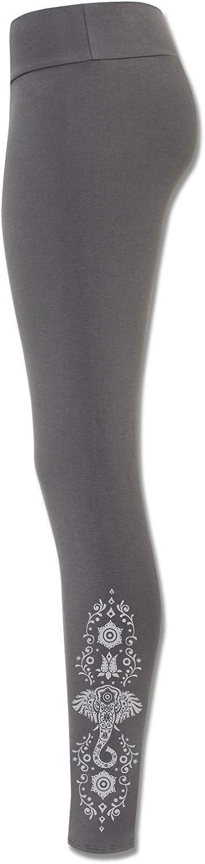 Japan Maker Super beauty product restock quality top! New Soul Flower Women's Elephant Vibes Cotton Organic Grey Leggings