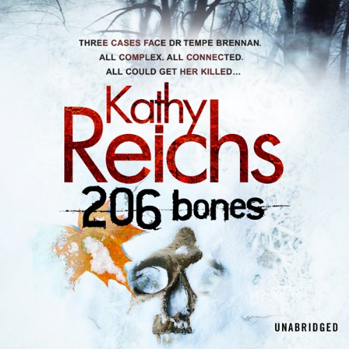 206 Bones audiobook cover art