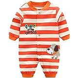 Bebés Pijama Algodón Mameluco Niñas Niños Peleles Sleepsuit Caricatura Trajes, 3-6 Meses