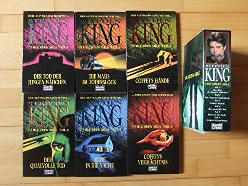 Stephen King: The green mile [in sechs Bänden]
