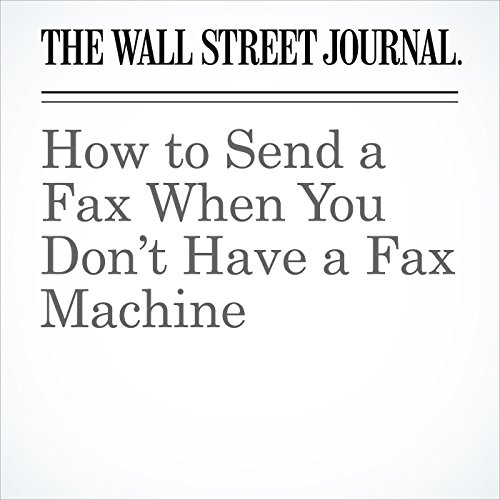 How to Send a Fax When You Don't Have a Fax Machine copertina