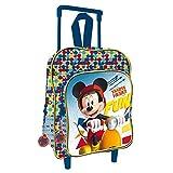 Licence Mickey Mouse Sac à dos enfant, 35 cm, Multicolor