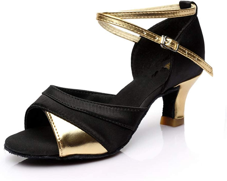 Cloudless Women's Peep Toe Rhinestone Glitter Crossing Strap Dance Sandals