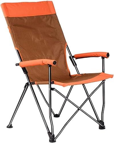 LLRDIAN Chaise Pliante extérieure Portable Maison Pause déjeuner Chaise Camping Plage Chaise Chaise Art Esquisse Chaise pêche Tabouret