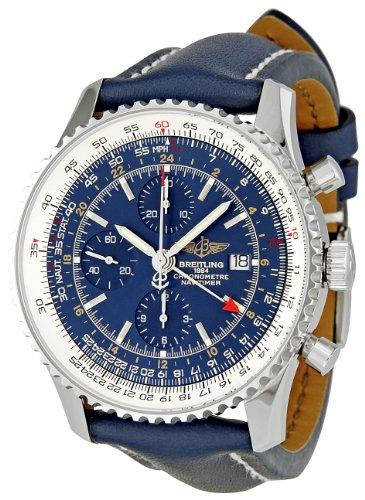 Breitling A2432212/C651 Navitimer World - Reloj cronógrafo para Hombre