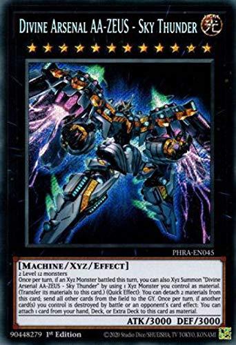 Divine Arsenal AA-Zeus - Sky Thunder - PHRA-EN045 - Secret Rare - 1st Edition