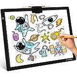 ANGGO Mesa de Luz Dibujo A3, LED Tableta de Luz Dibujo Super Delgado y Brillo Ajustable, Tablero de Dibujo LED Tracking Light Pad con Cable USB para Artistas, Animación, Bocetos, Diseño, X-Ray