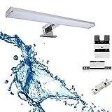 Lámpara de espejo LED 3 en 1 para baño, 60 cm, 12 W, 960 lm, 4000 K, 230 V,...