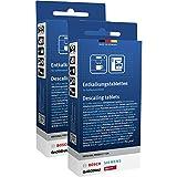 3 x pastillas de limpieza Bosch Siemens para cafetera totalmente autom/ática 00311969 311969 00311940 Set con cepillo de limpieza