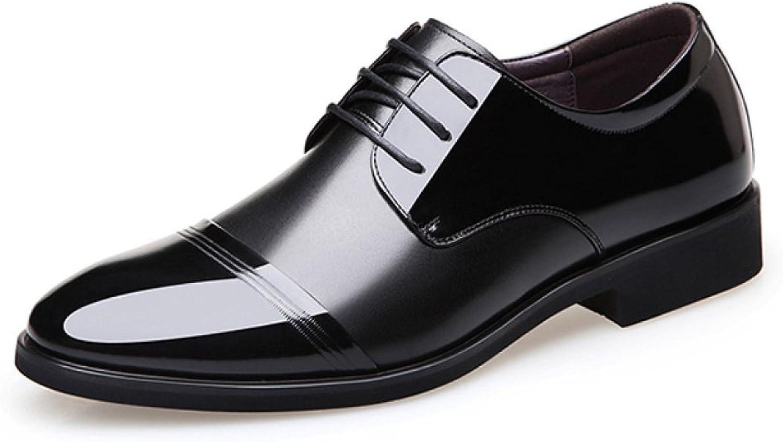 HGDR herr läder Lace Up Formala skor skor skor Smart klädstil Business Work Evening Party skor  online shopping och modebutik