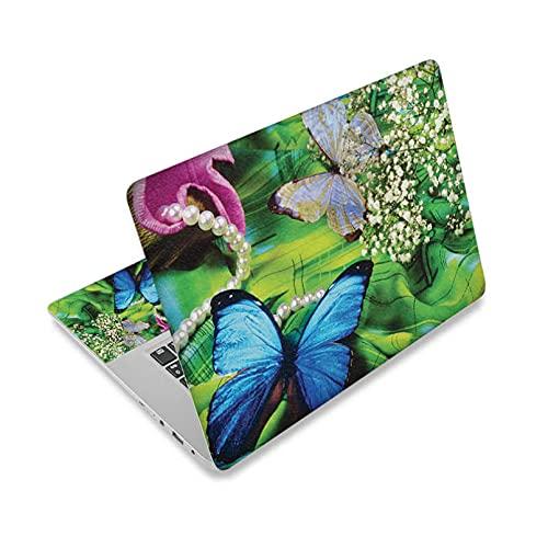Vinilo para portátil Netbook Laptop Skin Sticker Fundas Reutilizables 11.6'12.1' 13'13.1' 13.3'14' 15.4'15.6' Mariposas Y Flores