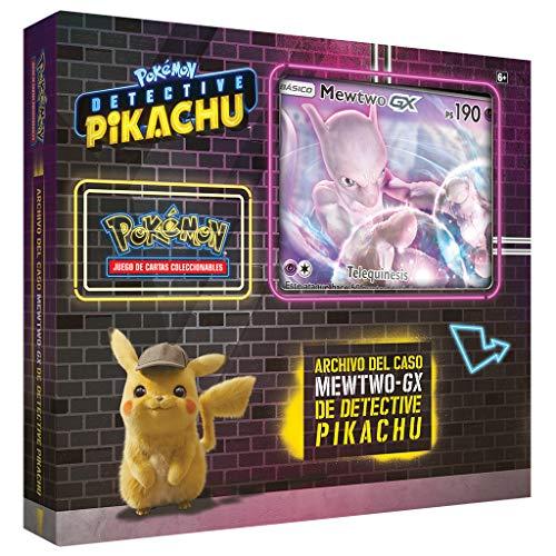 Pokemon JCC - Archivo del caso MewTwo-GX de Detective Pikachu (Asmodee, POGX1907)