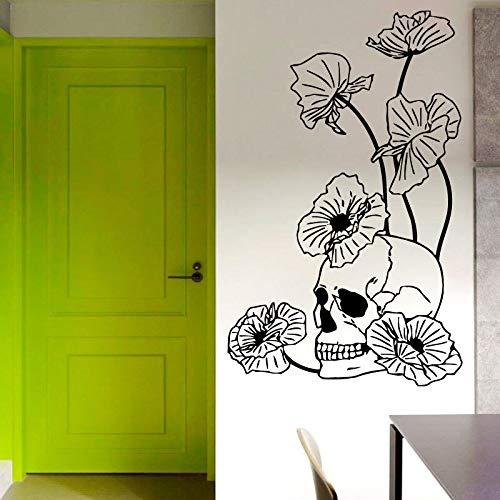 yaonuli muurstickers bloem decoratie zelfklevend creatieve decoratie huis woonkamer slaapkamer