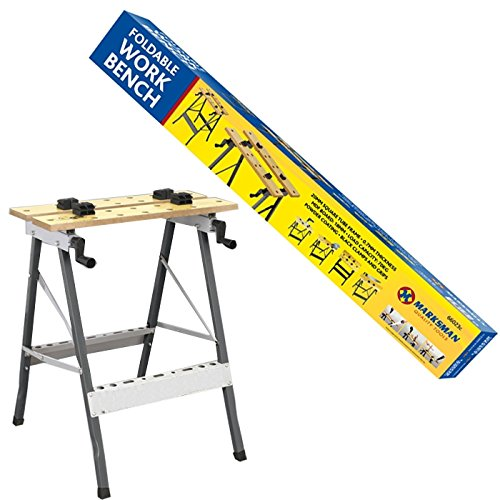 FOLDABLE WORKBENCH PORTABLE WOOD BENCH WORK CLAMPING FOLDING NEW WORKTOP TABLE
